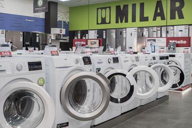 tienda milar lavadoras